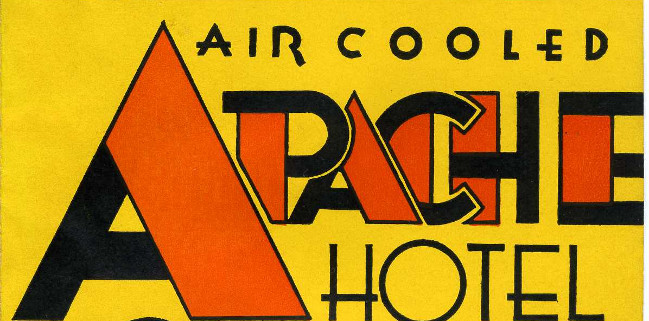 Air Cooled Apache Hotel