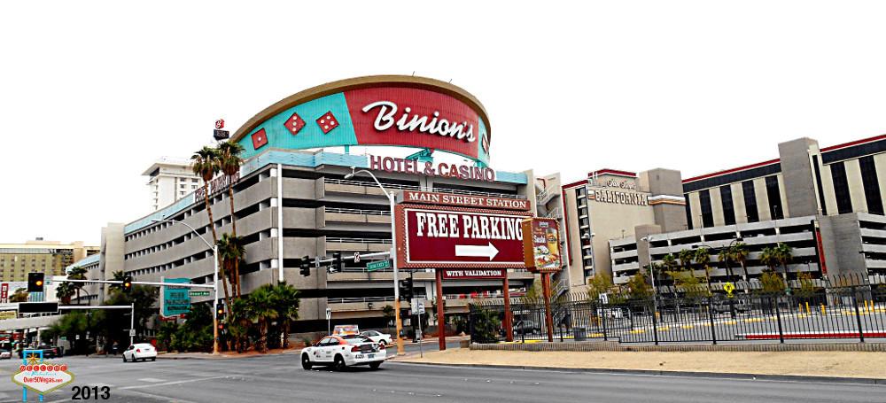 Binions casino parking casino del sol employment tucson az