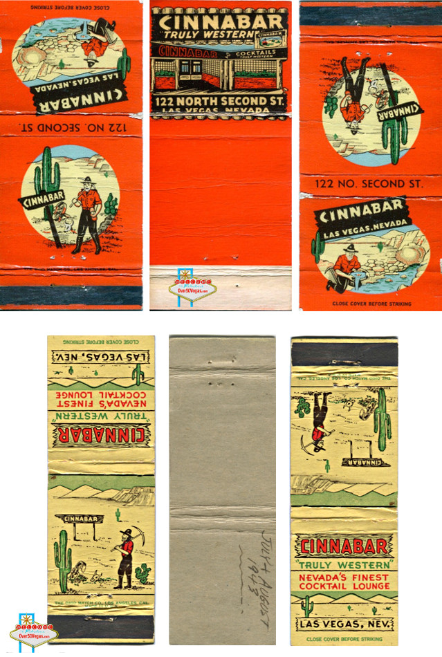 "Cinnabar ""Truly Western"" match covers"