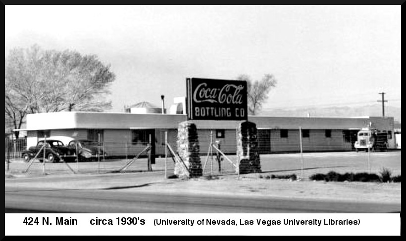Coca-Cola Bottling Co., Las Vegas, circa 1930s