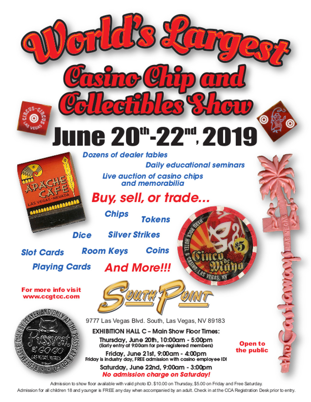 Casino collectibles show June 2019