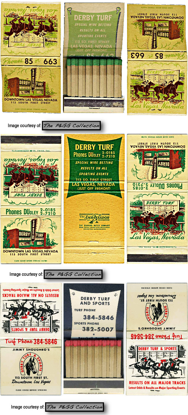 Derby Turf matchcovers