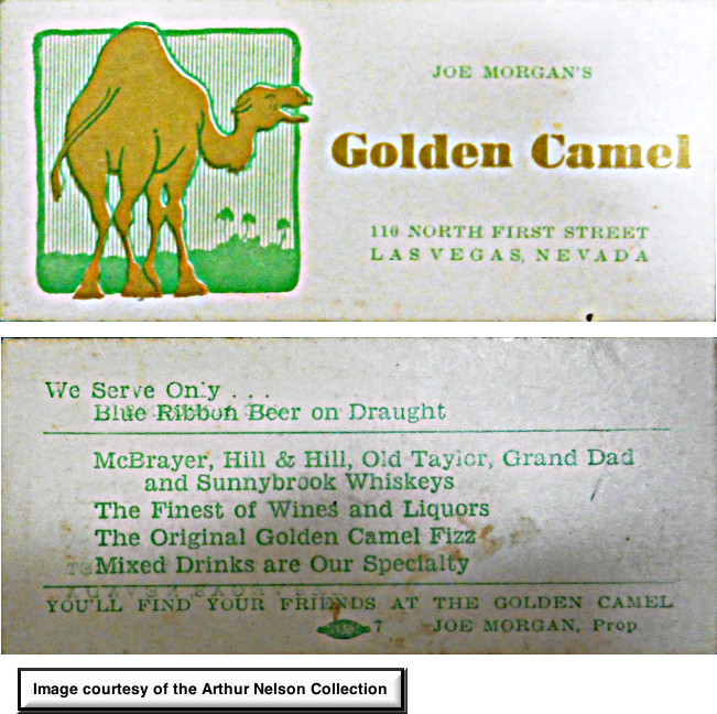 Joe Morgan's Golden Camel