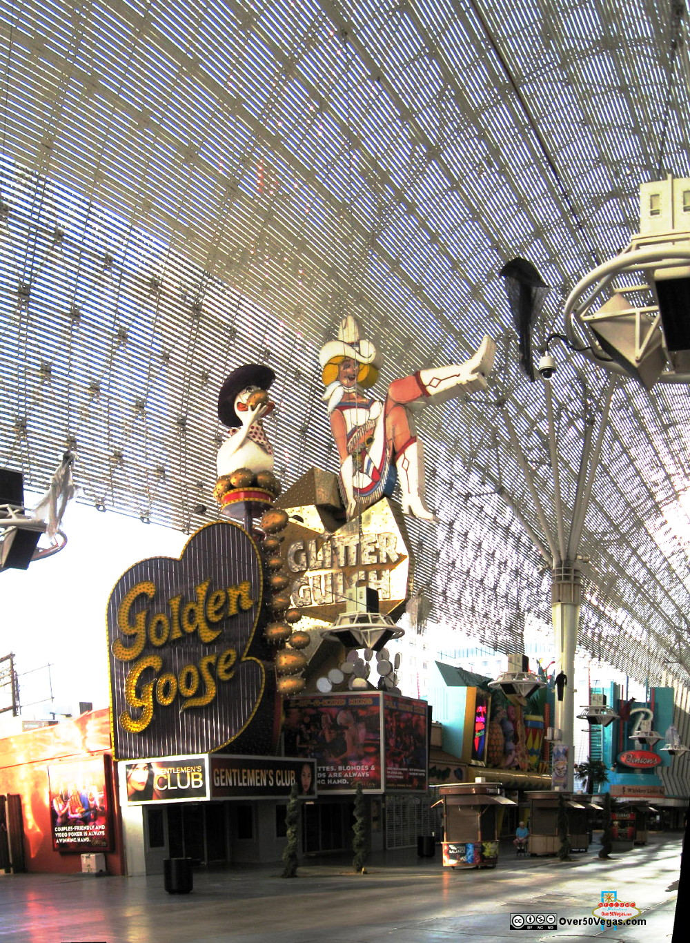 Glitter Gulch Golden Goose in 2012  Las Vegas, NV