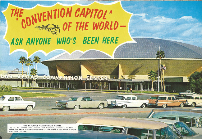 Joe W. Brown was instumental in getting the first Las vegas Convention Center opened.