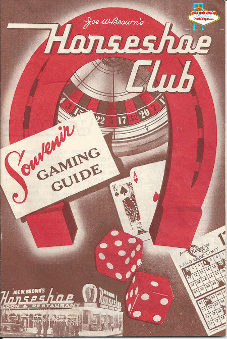 Gaming Guide from Joe Brown's Horseshoe Club