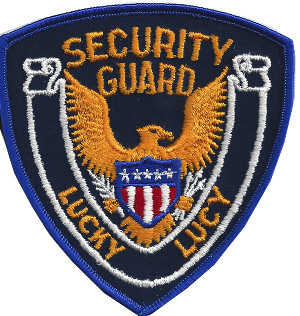 Security Guard Patch from Lucky Lucy's