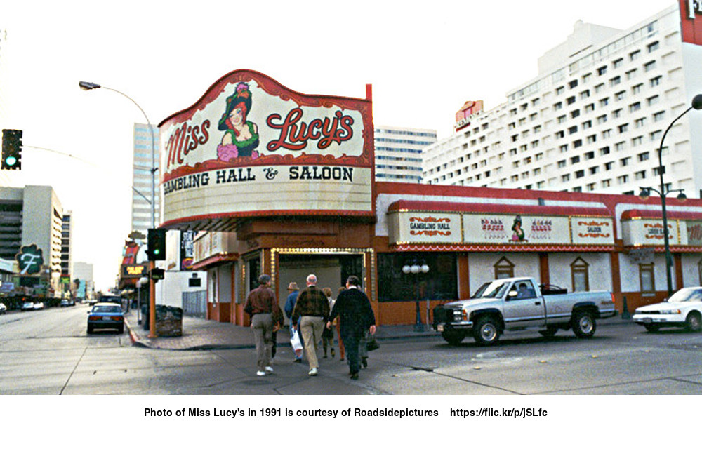 Photo of Miss Lucy's in 1991 is courtesy of Roadsidepictures    https://flic.kr/p/jSLfc