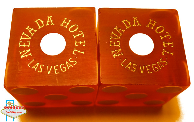 Dice from Nevada Hotel in Las Vegas, NV