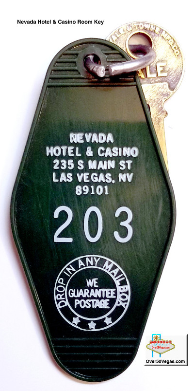 Nevada Hotel & Casino room key