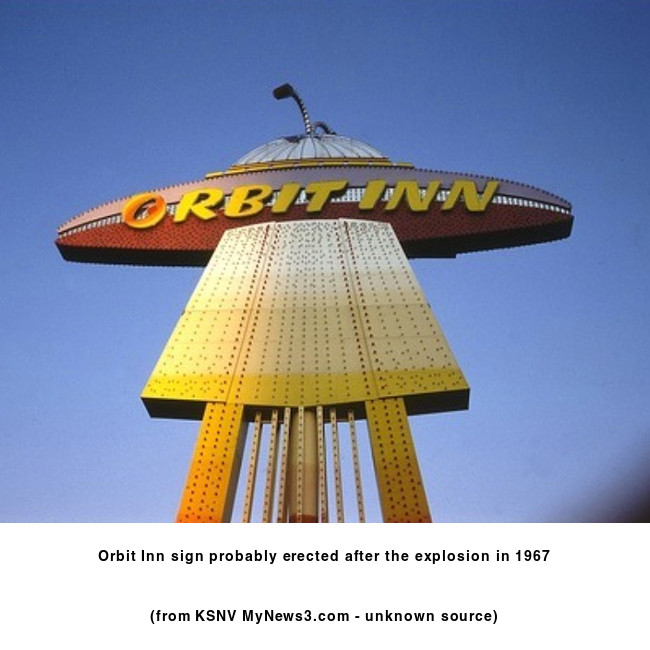 Orbit Inn Las Vegas- sign
