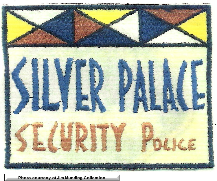 Silver Palace Security Patch from the Jim Munding Collection.