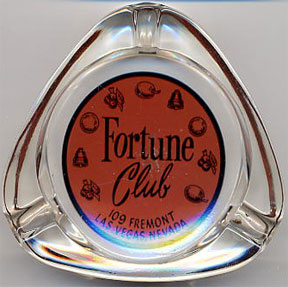 Fortune Club Ashtray courtesy of Vintage Dice.